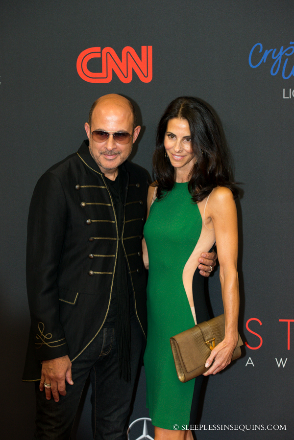 John Varvatos and Joyce Zylberberg